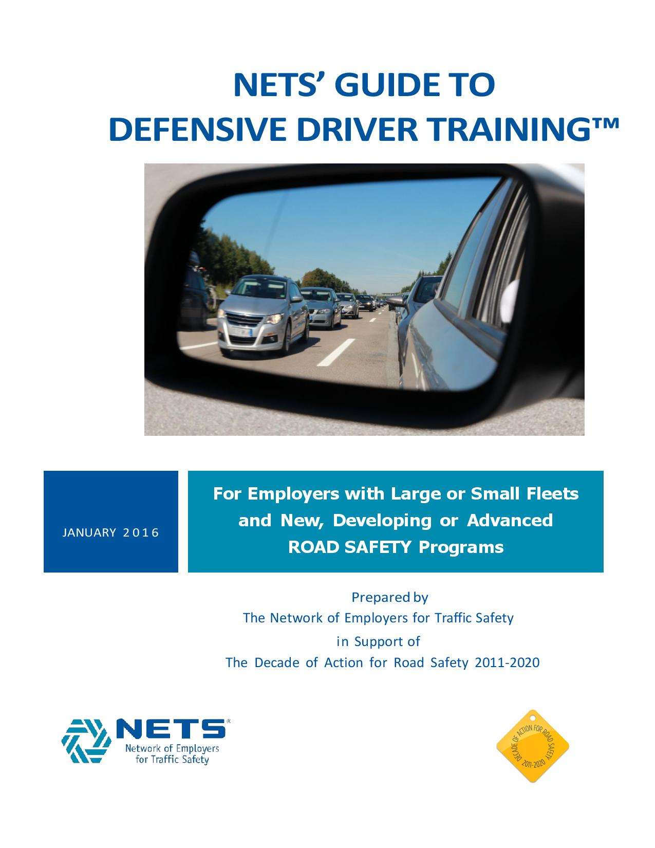 NETS' Guide to Defensive Driver Training