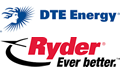 DTE Energy and Ryder logos