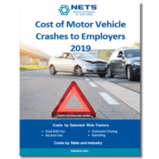 Cover for Cost of Motor Vehicle Crashes to Employers 2019 Report by NETS